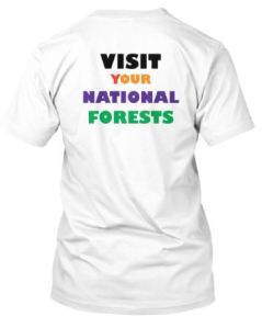 Nat Forest Tshirt Back