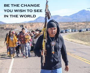 Be the Change Apache March 2015