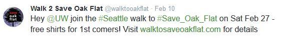 walk tweet
